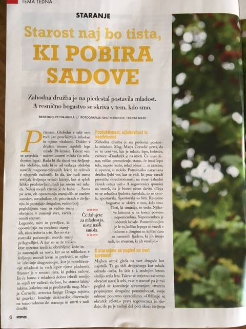 Revija Jana, Marja Černelič