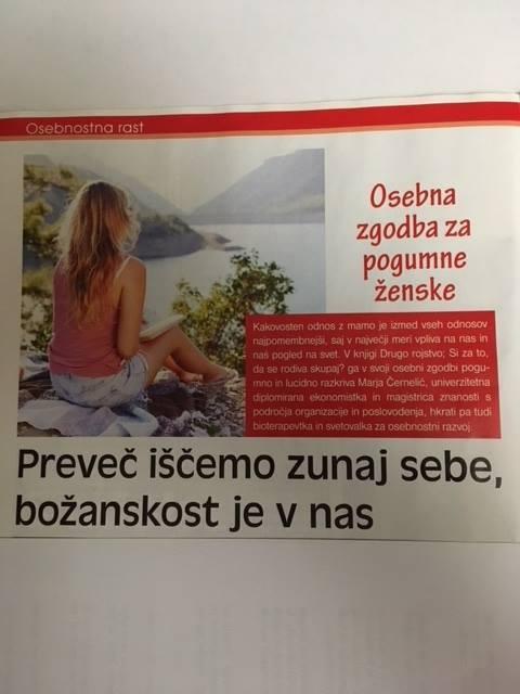 Marja Černelič, revija ženska,