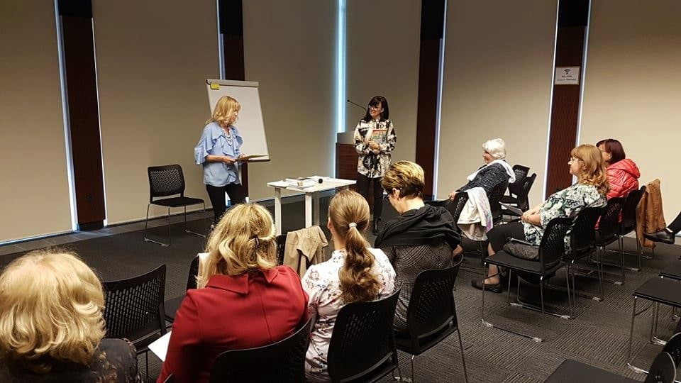 predavanja in vodenje delavnic, Marja Černelič,